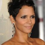Halle Berry Short Black Pixie Haircut