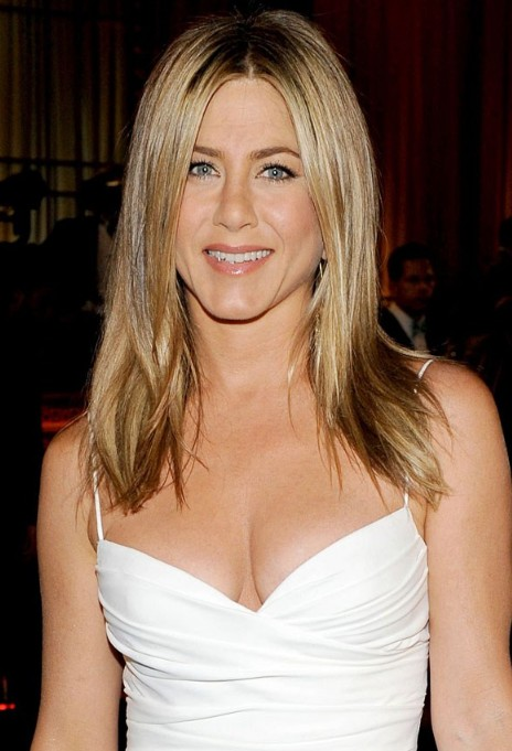 Jennifer Aniston Latest Hairstyles/Rex Features
