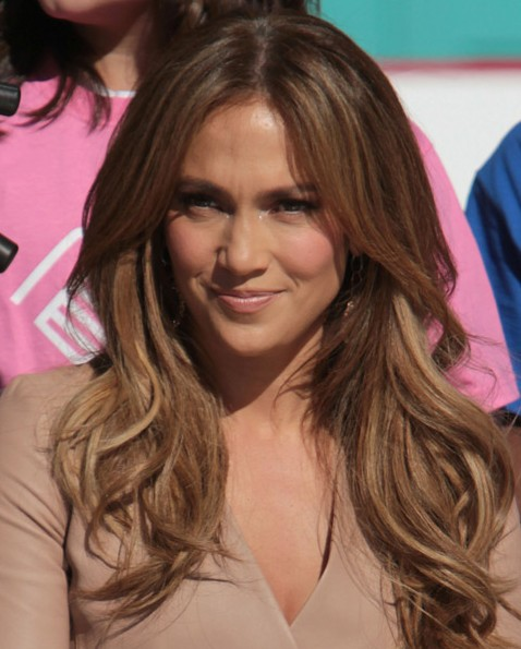 Jennifer Lopez Hairstyle Long Straight Cut Hairstyles