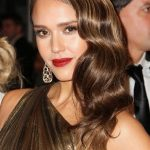 Jessica Alba Glamour Retro Long Hairstyles