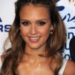 Jessica Alba Half Up Half Down Hairdos