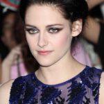 Kristen Stewart Bobby Pinned Black Updo