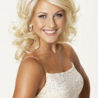 2013 Medium Blonde Curly Hairstyles for Women