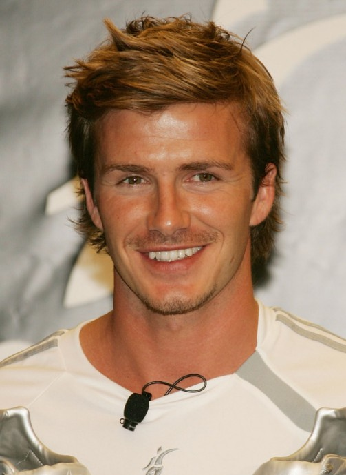 Medium Layered Hairstyles For Men Cool Hairstyle From David Beckham