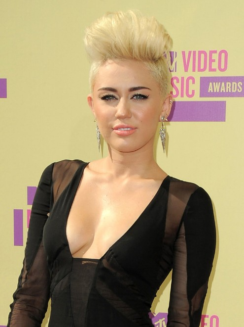 Miley Cyrus Latest Hairstyles