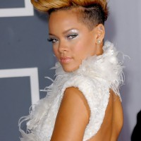 Rihanna Faux Hawk Haircut: Stylish Faux Hawk for Women