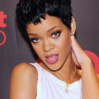 Rihanna Hairstyles 2013 The Short Pixie Cut!