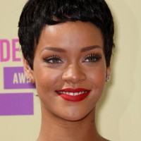 Rihanna Latest Short Pixie Haircut: Cool Boy Cut for Women
