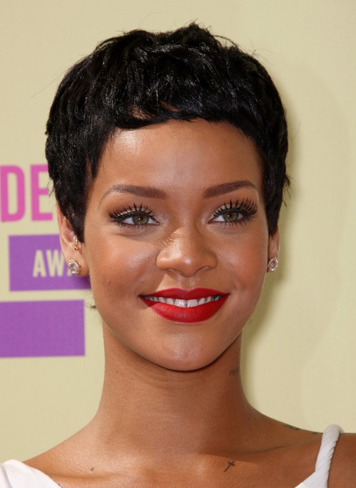 Marvelous Rihanna Hairstyles Weekly Short Hairstyles For Black Women Fulllsitofus