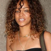 Rihanna Long Girly Natural Hairstyle for Women Under 30s