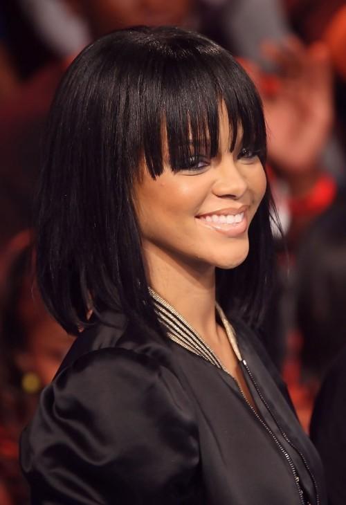 Stupendous Rihanna Hairstyles Weekly Short Hairstyles For Black Women Fulllsitofus