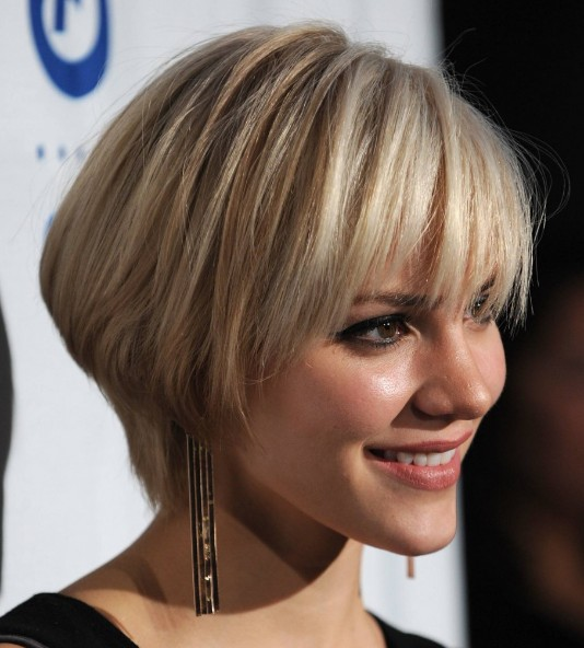 Short Angled Haircuts: One of The Most Popular Short Hair 2013