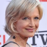 Diane Sawyer Short Bob Haircut: Short Haircut for Women Over 50s