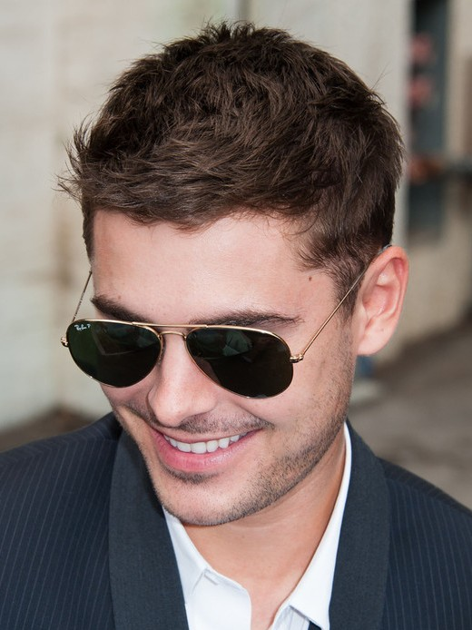 Zac efron hair casual daily short haircut for men