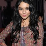 Vanessa Hudgens Long Black Hairstyles