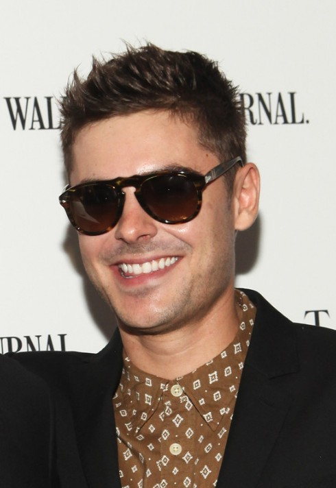 Fantastic Zac Efron Short Haircuts Cool Spiked Short Hairstyle For Men Short Hairstyles Gunalazisus