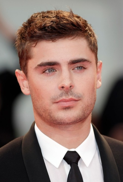 Zac Efron Hairstyle: Cool Short Messy Haircut for Men - Hairstyles ...