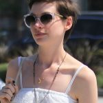 Anne Hathaway Short Boy Cut for Women