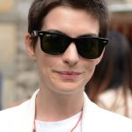 Anne Hathaway Short Boycut for Women