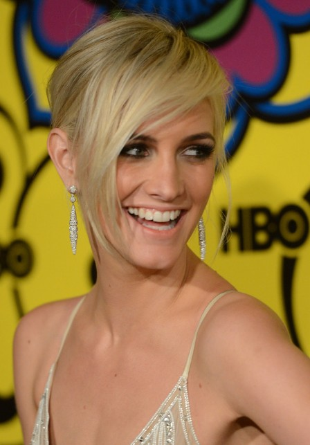 Ashlee simpson short blonde hairstyle with long bangs hairstyles ashlee simpson latest short hairstyle urmus Gallery