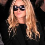 Ashley Olsen Messy Beachy Wavy Hairstyle