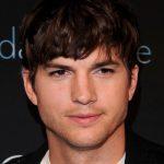 Ashton Kutcher Layered Messy Hairstyle for Men