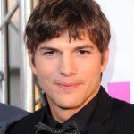 Ashton Kutcher Taper Haircut for Men