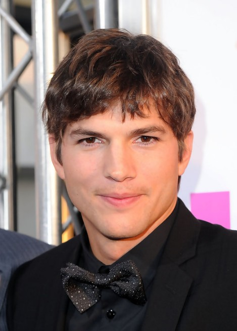 ashton kutcher haircut: short taper haircut - hairstyles weekly