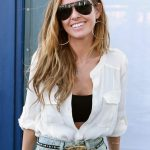 Audrina Patridge Tousled Curly Hairstyle