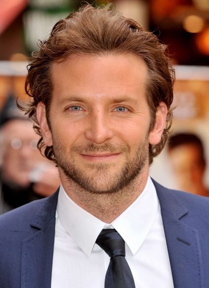Awesome Bradley Cooper Comb Backwards Hairstyle For Men