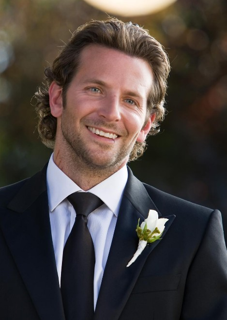 Excellent Bradley Cooper Casual Long Hairstyle Great Wedding Hairstyles For Short Hairstyles Gunalazisus