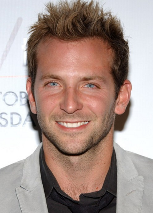 bradley cooper spiked short haircut for guys - hairstyles weekly