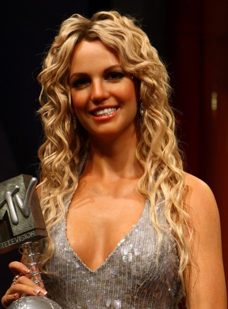 Britney Spears Long Blonde Curly Hairstyle Hairstyles Weekly