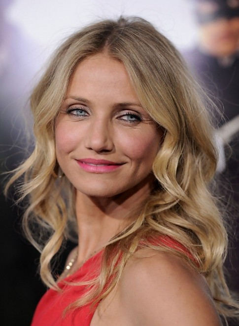 Cameron Diaz Long Wavy Hairstyles
