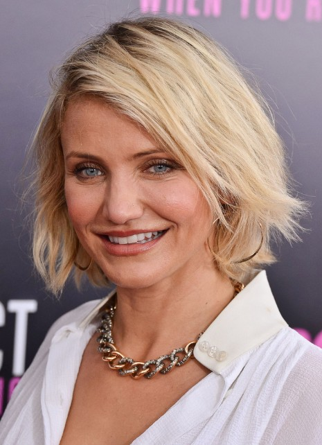 Cameron Diaz Short Bob Haircut Hairstyles Weekly