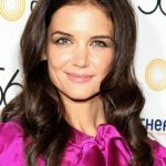 Katie Holmes Casual Long Curly Hairstyle 2013