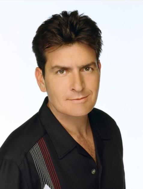 Charlie Sheen Hair Style for Men
