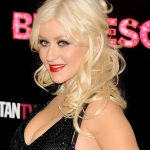 Christina Aguilera Half Up Half Down Hairstyle