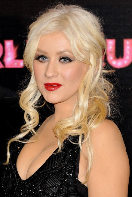 Christina Aguilera Long Hairstyles