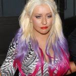 Christina Aguilera Ombre Hair