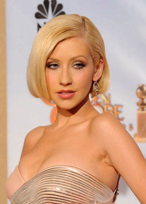 Christina Aguilera Bob Hairstyles /Getty Images Christina Aguilera Bob ... Christina Aguilera