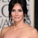 Courteney Cox French Twist Updo Hairstyle