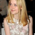 Dakota Fanning Long Blonde Bob Hairstyle