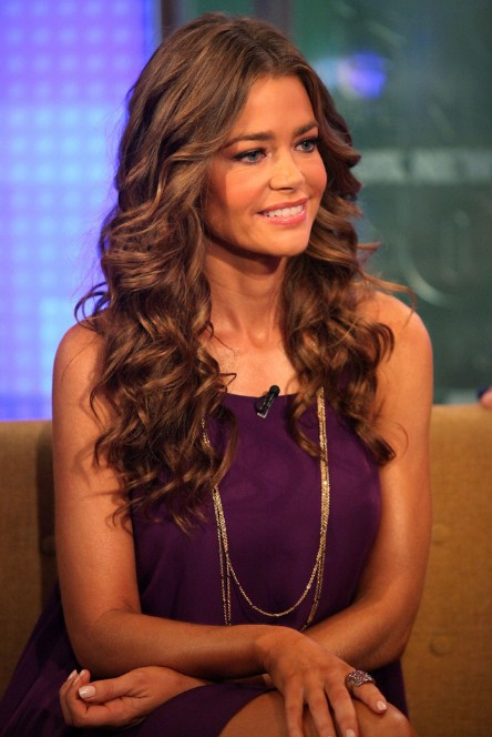 Denise Richards Long Wavy Curly Hairstyles