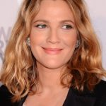 Drew Barrymore Medium Length Wavy Bob Hairstyle