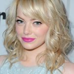 Emma Stone Medium Curly Hairstyles