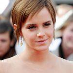 Emma Watson Short Pixie Cut
