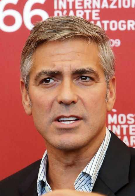 Clooney Short Haircut for Men /Bauer Griffin @ hairstylesweekly.com