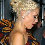 Gwen Stefani Braided Bun Updo
