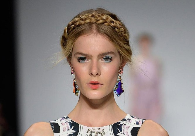 Hair Trends Milkmaid Braids